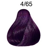 Крем-краска стойкая Londa Color для волос, шатен фиолетово-красный 4/65