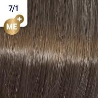Крем-краска стойкая Wella Professionals Koleston Perfect ME + для волос, 7/1 Табачный маррон