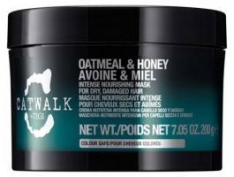 Маска интенсивная TIGI Catwalk Oatmeal & Honey для питания сухих и ломких волос, 200 мл