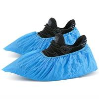 Бахилы полиэтиленовые Мой Салон голубые, 50 пар