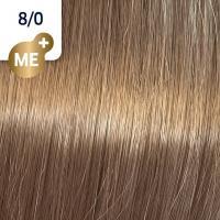 Крем-краска стойкая Wella Professionals Koleston Perfect ME + для волос, 8/0 Светлый блонд натуральный