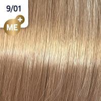 Крем-краска стойкая Wella Professionals Koleston Perfect ME + для волос, 9/01 Орех пекан