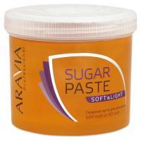 Паста сахарная Aravia Professional для депиляции, мягкая и легкая, мягкой консистенции, 750 г