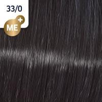 Крем-краска стойкая Wella Professionals Koleston Perfect ME + для волос, 33/0 Темно-коричневый интенсивный натуральный