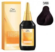 Краска Wella Professionals Color Fresh Acid для волос 3/66 аметистовая ночь, 75 мл