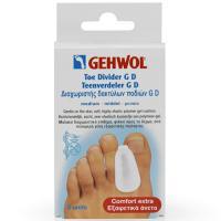 Гель-корректор Gehwol GD для больших пальцев ног, средний, 3 шт/уп