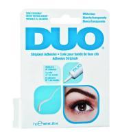 Клей DUO для накладных ресниц, прозрачный, 7 г