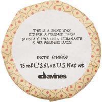Воск-блеск Davines More Inside для глянцевого финиша, 75 мл