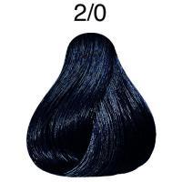Крем-краска Londa Color интенсивное тонирование для волос, черный 2/0