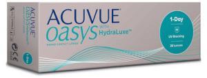 Линзы контактные однодневные Johnson&Johnson 1-DAY Acuvue Oasys with Hydraluxe D-2.50 R8.5, 30 шт.