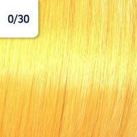 Крем-краска стойкая Wella Professionals Koleston Perfect ME + для волос, 0/30 Золотистый натуральный