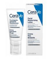 Лосьон увлажняющий CeraVe для нормальной и сухой кожи лица, 52 мл