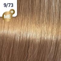 Крем-краска стойкая Wella Professionals Koleston Perfect ME + для волос, 9/73 Золотой тик