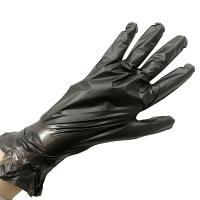 Перчатки эластомерные Aviora одноразовые, черные, размер L, 100 шт