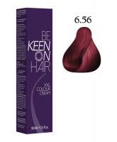 Крем-краска KEEN COLOUR CREAM 6.56, личи, 100 мл