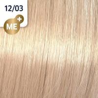 Крем-краска стойкая Wella Professionals Koleston Perfect ME + для волос, 12/03 Чайная роза