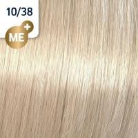 Крем-краска стойкая Wella Professionals Koleston Perfect ME + для волос, 10/38 Пудровый экрю