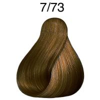 Крем-краска стойкая Londa Color для волос, блонд коричнево-золотистый 7/73