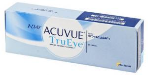 Линзы контактные однодневные Johnson&Johnson 1-DAY Acuvue TrueEye D-5.50 R9.0, 30 шт.