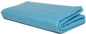 Простыня голубая 80х200 см, спанбонд 12 г/м2, 50 шт
