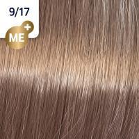 Крем-краска стойкая Wella Professionals Koleston Perfect ME + для волос, 9/17 Шелковый ристретто