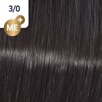 Крем-краска стойкая Wella Professionals Koleston Perfect ME + для волос, 3/0 Темно-коричневый натуральный