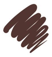 Подводка гелевая Provoc для глаз, в карандаше, темно-шоколадный, 87