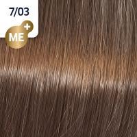 Крем-краска стойкая Wella Professionals Koleston Perfect ME + для волос, 7/03 Осенняя листва