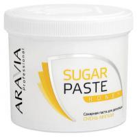 """Паста сахарная ARAVIA Professional для депиляции """"Медовая"""" очень мягкой консистенции, 750 г"""