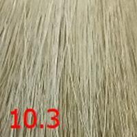 Крем-краска KEEN COLOUR CREAM 10.3, ультра-светлый золотистый блондин, 100 мл