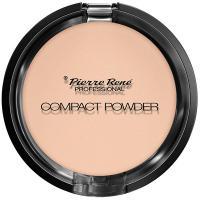 Пудра тональная компактная Pierre Rene Compact Powder с натуральными маслами для сухой кожи, оттенок 03, 8 г