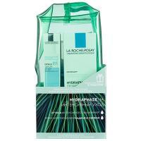 Набор La Roche-Posay Hydraphase HA Ежедневный комплексный уход для интенсивного увлажнения кожи, 50 мл + 50 мл + 15 мл + 10 мл