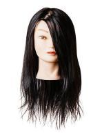 Голова учебная Harizma брюнет, синтетика, 50-60 см