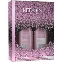 Набор новогодний Redken Volume Injection 2021, шампунь, 300 мл + кондиционер, 300 мл