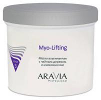 Маска альгинатная Aravia Professional с чайным деревом и миоксинолом, 550 мл