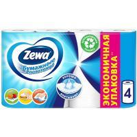 Полотенца бумажные Zewa, 4 шт
