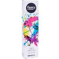 Крем-краска и средство обесцвечивающее Brelil Professional Fancy Colour 2в1 серебро, 80 гр