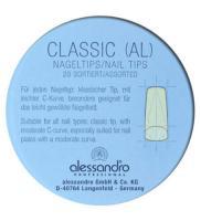 Типсы Alessandro для наращивания ногтей, 20 шт.