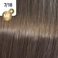 Крем-краска стойкая Wella Professionals Koleston Perfect ME + для волос, 7/18 Перламутровый вереск