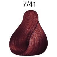 Крем-краска стойкая Londa Color для волос, блонд медно-пепельный 7/41