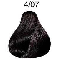 Крем-краска Londa Color интенсивное тонирование Extra-Coverage для волос, 4/07, 60 мл