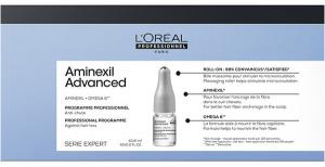 Лосьон в монодозах L'Oreal Professionnel Serie Expert Aminexil Advanced от выпадения волос, 42х6 мл