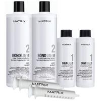 Набор Matrix Bond Ultim8 для защиты волос во время окрашивания, 42 аппликации, 2х125мл + 2х250мл