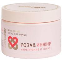 Маска Concept SPA hair роза и инжир для укрепления и придания тонуса волосам, 350 мл