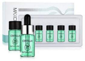 Сыворотка Maxclinic 28 Drop Ampoule Centella для устранения покраснений и сухости кожи, 4х10 мл
