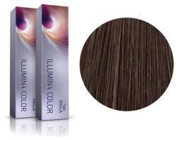 Крем-краска стойкая Wella Professionals ILLUMINA Color для волос, 6/76 темный блонд, коричнево-фиолетовый, 60 мл