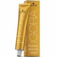 Крем-краска Schwarzkopf professional Igora Royal Absolutes 9-10, блондин сандрэ натуральный, 60 мл