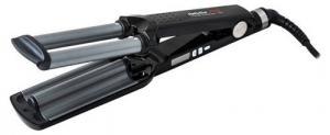 Плойка тройная BaBylissPRO с терморегулятором, титан+турмалин, 19 мм