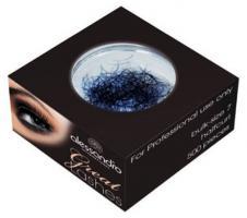 Ресницы искусственные синие Alessandro Great Lashes, в блоке