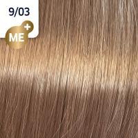 Крем-краска стойкая Wella Professionals Koleston Perfect ME + для волос, 9/03 Лен